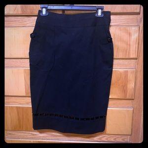 Unique Zac Posen Pencil Skirt